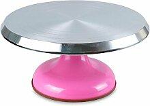 WDBS Werkzeuge/Blume Bett/Kuchen Plattenspieler Montage/12 Zoll Legierung Skid Kuchen/Rotary Tisch Backen , 2