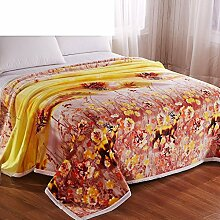 Wddwarmhome Blanket Polyester Material