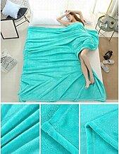 Wddwarmhome Einfarbig Decke Warme Decke
