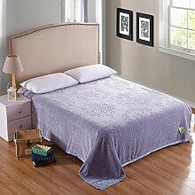 Wddwarmhome Einfarbig Geschnitzte Warme Decken