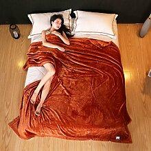 Wddwarmhome Einfarbig Winter Warme Decke