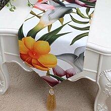 Wddwarmhome Farbe Tischläufer Mode Einfach Tisch Tisch Tisch Wohnzimmer Couchtisch Stoff Bett Flagge (nur Verkauf Tischläufer) 33 * 300cm