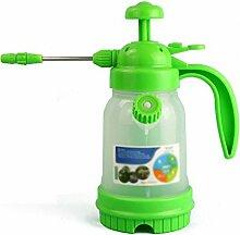 Wddwarmhome Gießkanne Grün 1.2L Kunststoff Home Spray Flasche Spray Flasche Gießkanne Gartenarbeit Blume Bewässerung transparen