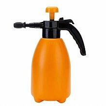 Wddwarmhome Gießkanne Orange 2L Kunststoff Wasserflasche Gartenarbeit Blume Bewässerung Gießkanne Sprinkler Wasserkocher Sprayer
