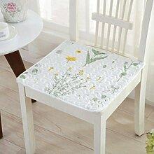 Wddwarmhome Kissen Baumwollmischung Tuch Kissen Esszimmer Stuhl Kissen Stuhl Stuhl Kissen Büro Stuhl Kissen Computer Stuhl Kissen Sofa Kissen Größe: 40 * 40cm