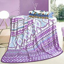 Wddwarmhome Purple Decke Schlafzimmer Bed Covered