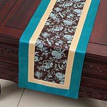 Wddwarmhome Tischläufer Himmel Blau Flachwinkel Tischdecke Wohnzimmer Couchtisch Stoff Bett Fahne Schrank Flagge Tisch Matte (nur Verkauf Tischläufer) 33 * 200cm