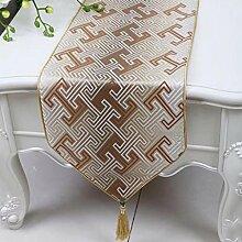 Wddwarmhome Tischläufer Stripes Mode Einfache Tisch Tischdecke Wohnzimmer Couchtisch Stoff Bett Flagge (nur Verkauf Tischläufer) 33 * 230cm