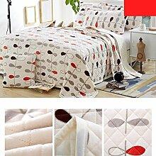 Wddwarmhome Weiß Winter Warme Decke Polyester Material Blatt Muster Schlafzimmer Wohnzimmer Decke Weicher Stoff Wolldecke ( größe : 200*230cm )