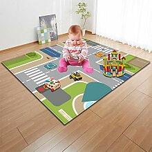Wddwymll Kinder Verkehr Route Puzzle Spielmatte