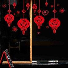WDQTDY Festliche Chinesische Neujahr Rote Laterne