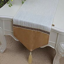 WDSJZQ Tischläufer Farbe Tischläufer Bett Flagge