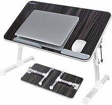 WDWL Laptop Tisch Klappbar Verstellbar Hebbar