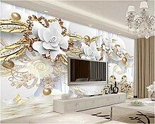 Weaea Custom Home Dekoration Tapete Kreis Luxus
