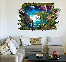 Weaeo 3D Dinosaurier Wand Aufkleber Aufkleber Für