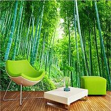 Weaeo 3D Fototapete Bambus Wald Dschungel