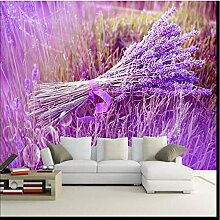 Weaeo Custom Wallpaper Lila Romantische Lavendel