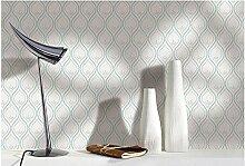 Weaeo Einfache Moderne Tapete Für Non Woven Europäischen Wohnzimmer Tv Hintergrund Wand Wathe