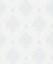 Weaeo Einfache Selbstklebende Von Non Woven Tapeten Europäischen Tapeten Schlafzimmer Hellblau