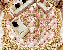 Weaeo Europäische Rose Soft Bag Marmor Relief 3D