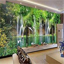 Weaeo Fototapete Tv Sofa Hintergrund 3D Wohnzimmer