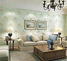 Weaeo Frische Fein Druck Non Woven Tapeten Wohnzimmer Esszimmer Hintergrund Mauer Hellgrün