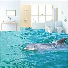 Weaeo Hd Tour Oberfläche Delphin 3D-Bodenbelag