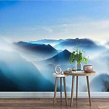 Weaeo Leinwand Fototapete Wasser Berg Natur