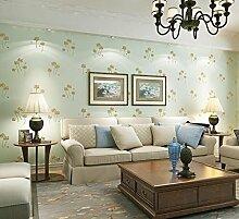 Weaeo Nicht Stofftapeten Warmen Wohnzimmer Tv Hintergrund Wand Dekorative Tapete Gewebt Hellgrün
