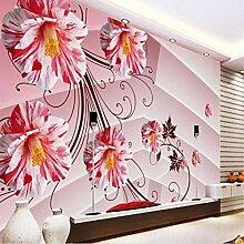 Weaeo Personalisierte Blumen Hd 3D Tv Kulisse