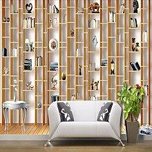 Weaeo Tapete 3D Aus Holz Moderne Mode Dekoration