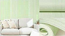 Weaeo Vlies Tapete Einfache Moderne Tapeten Hellgrün