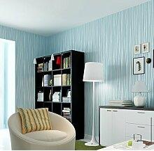 Weaeo Vlies Tapete Moderne Vereinfachte Hotel Schlafzimmer Tv Dekoration Hellblau