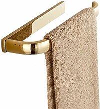 Weare Home Antik Gold Farbe Kupfer Messing Einfach Badezimmer Accessoires Handtuchhalter Wandhalterung befestigen Anhänger