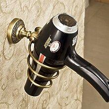 Weare Home Retro Solide Kupfer Haartrocknerhalter