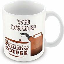 Web 'von einer Tasse Lustige Geschenkidee Design office Arbeitsplätze