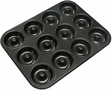webake 12er Mini Donut Backform für Donut Muffins