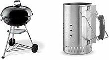 Weber 1321004 Holzkohlegrill Compact Kettle,