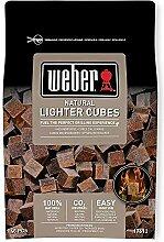 Weber® Anzündwürfel braun, ökologisch, 48