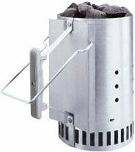 Weber m105903–Kamin-Set mit Carbon