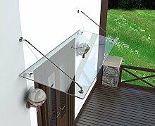 Weber Modern Glasvordach Vordach Türvordach