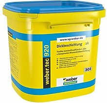 weber.tec 920 2 K Bitumen Dickbeschichtung, 30