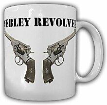 Webley Revolver Faustfeuerwaffe Großbritannien Wk Vereinigten Königreiches Scott 455 Deko Waffe - Tasse Kaffee Becher #16329