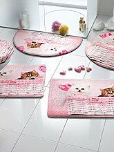 Webschatz Badematte 'Chinchilla-Kätzchen'