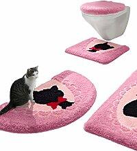 Webschatz Badematte 'Katze'