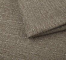 Webstoff Strukturstoff Portland - Möbelstoff Polsterstoff Uni Meterware - dunkel beige 23