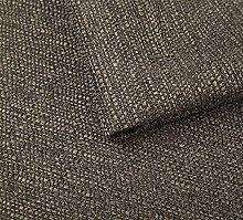 Webstoff Strukturstoff Portland - Möbelstoff Polsterstoff Uni Meterware - braun 25