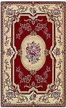 WEBTAPPETI Teppich Aubusson rot Stil Klassisch