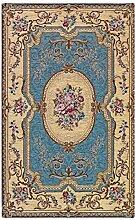 WEBTAPPETI Teppich Classico Aubusson blau cm 65X300