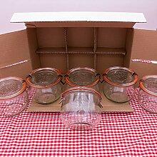 WECK 1/2l Einmachglas 500ml Tulpen-Form -